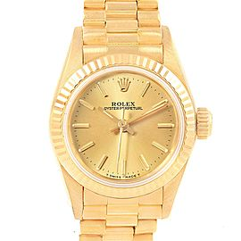 Rolex Oyster Perpetual 67198 24mm Womens Watch