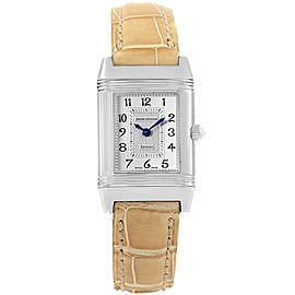 Jaeger Lecoultre Reverso Duetto 266.8.44 21mm Womens Watch