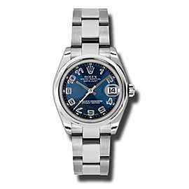 Rolex Datejust Steel Blue Concentric Arabic Dial 31mm Watch