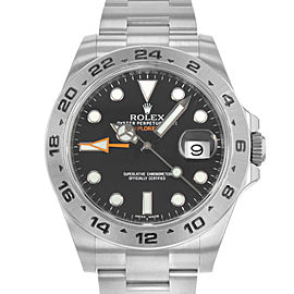 Rolex Explorer II 216570 BK 42mm Mens Watch