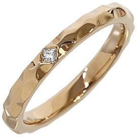 Louis Vuitton 18K Rose Gold Alliances Monogram Infini Ring