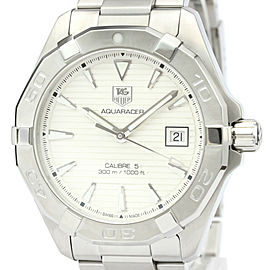 TAG HEUER Stainless Steel Aquaracer Calibre 5 300M Watch HK-2368
