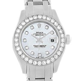 Rolex Datejust Pearlmaster 80299 29mm Womens Watch