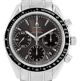 Omega Speedmaster Gray Dial Watch 323.30.40.40.06.001 Box Card