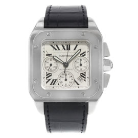 Cartier Santos W20090X8 41mm Mens Watch