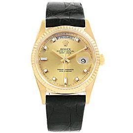 Rolex President Day-Date 18238 36mm Mens Watch