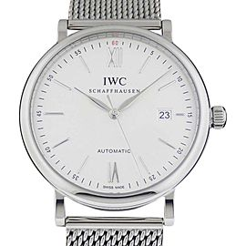 IWC Portofino IW356505 Automatic Stainless Steel 40mm Watch