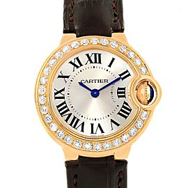 Cartier Ballon Blue WE900151 28.5mm Womens Watch