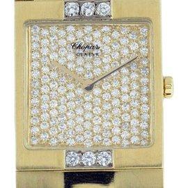 Chopard Classique 18k Yellow Gold Diamond 22mm x 25mm Watch