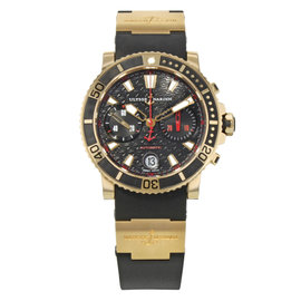 Ulysse Nardin Marine 8006-102-3A/926 43mm Mens Watch