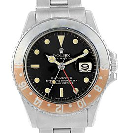 Rolex GMT Master 1675 Vintage 40mm Mens Watch