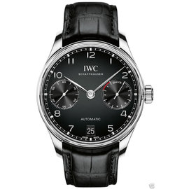 IWC Portugieser Automatic iw500703 Black Dial Watch