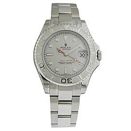 Rolex Yacht-Master 168622 SS/Platinum 35mm Ret Watch