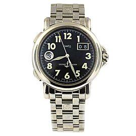 Ulysse Nardin San Marco GMT Dual Time Date Big Date 223-88 40mm Black Dial Watch