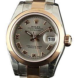 Rolex Datejust Lady 179161 Steel & Gold 26mm Womens Watch 2007