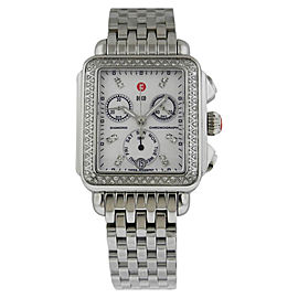 Michele MWW06P000099 Signature Deco Diamond Pearl Womens Watch