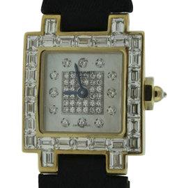 Chaumet 18K Yellow Gold Diamond 21mm Watch