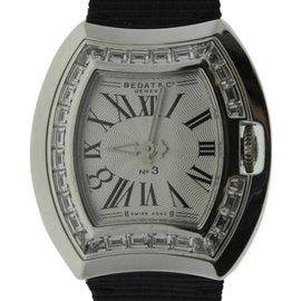 Bedat & Co. 324.530.100 White Gold & Diamonds Bezel 30mm Womens Watch