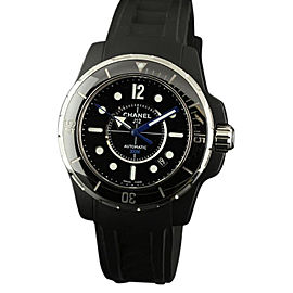 Chanel J12 H2558 Marine Black Ceramic Rubber 42mm Watch