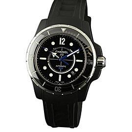 Chanel J12 H2558 Marine Black Ceramic Rubber 42mm Watch