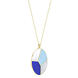 Ippolita 18K Yellow Gold Mother Of Pearl, Diamond Pendant