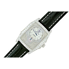 Breitling Bentley Flying B 18K White Gold Mens Watch