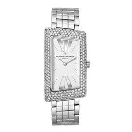 Vacheron Constantin 25515/u01g-9233 Cambree 1972 18K White Gold 37.7mm x 21mm Watch