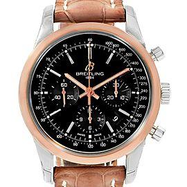 Breitling Transocean AB0152 43mm Mens Watch
