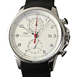 IWC IW390211 Portuguese Yacht Club Stainless Steel Chronograph 45mm Mens Watch