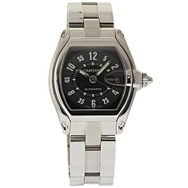 Cartier Roadster W62025V3 Stainless Steel 38mm Mens Watch
