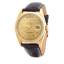 Mens Rolex 18K Gold Day-Date 18238