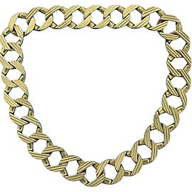 Cartier 18K Yellow Gold Interchangeable Curb Link Chain Necklace or Bracelet