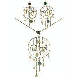 Mikimoto 18K White Gold Pearl Diamond Necklace Earrings