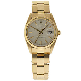 Rolex Date 1503 18K Yellow Gold Vintage 34mm Unisex Watch