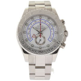 Rolex Yacht-Master II 116689 White Gold White Dial Automatic 44mm Mens Watch 2008