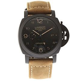 Panerai Luminor Marina PAM00441 GMT Ceramic 44mm Mens Watch