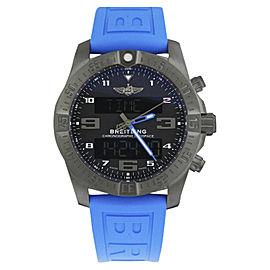 Breitling Exospace vb5510h2/be45/235s.v Black Titanium & Rubber Quartz 46mm Mens Watch