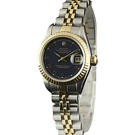 Rolex Datejust 69173 Stainless Steel and Yellow Gold 26mm Womens Watch