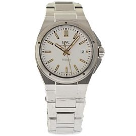 IWC Ingenieur IW323906 Stainless Steel Silver Dial Automatic 40mm Mens Watch