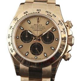 Rolex Daytona 116505 18K Rose Gold 40mm Mens Watch