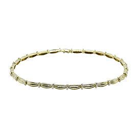 Tiffany & Co. 18K Yellow Gold 4.00ct. Diamond Station Necklace
