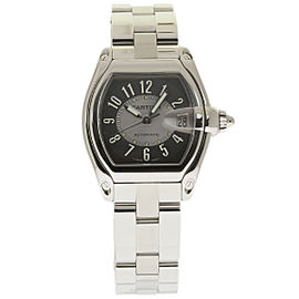 Cartier Roadster W62001V3 Stainless Steel Grey Dial Automatic 38mm Mens Watch
