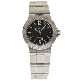 Bulgari Diagono LCV29S Stainless Steel 29mm Womens Watch