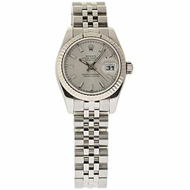Rolex Datejust 179174 Stainless Steel/White Gold Silver Dial Automatic 26mm Womens Watch 2006