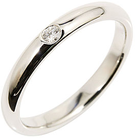 Harry Winston 950 Platinum & Diamond Wedding Ring Size 7.75