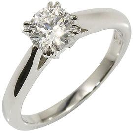 Harry Winston 950 Platinum & 0.50ct Diamond Ring Size 3.75