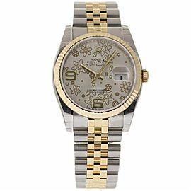 Rolex Datejust 116233 Stainless Steel & 18K Yellow Gold 36mm Unisex Watch