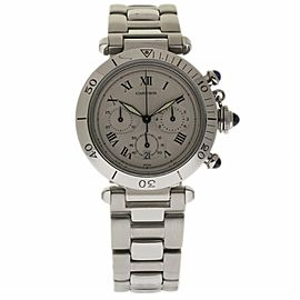 Cartier Pasha Diver W31018H3 Stainless Steel 38mm Womens Watch
