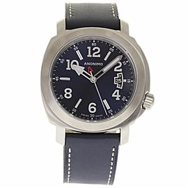 Anonimo Sailor AM200001005A01 Stainless Steel & Leather Automatic 43mm Mens Watch