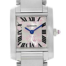 Cartier Francaise W51031Q3 Womens 20mm Watch